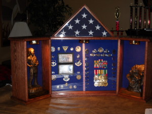 Custom Grand Colonial Shadow Box