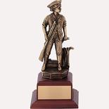 """9 1/2"""" Minuteman Statue"""