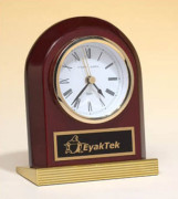 Rosewood Piano-Finish Clock