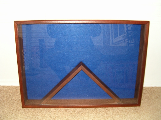 "28"" x 20"" Single Flag Shadow Box"