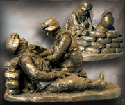 Combat Medic - Bronzetone