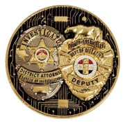Dual Plating Challenge Coin