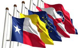 5' x 8' State Flag