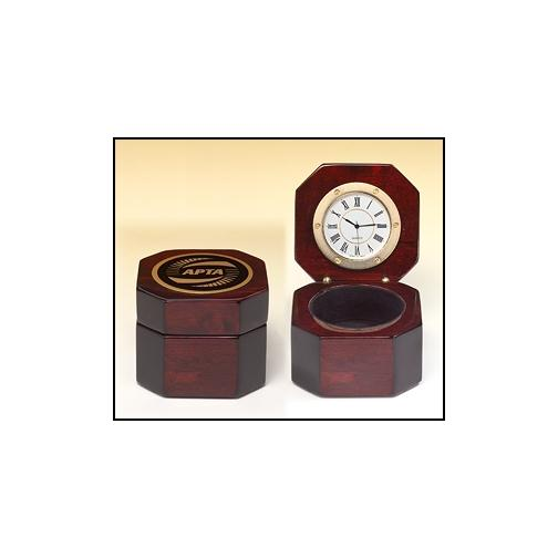 Octagonal Captain's Small Clock