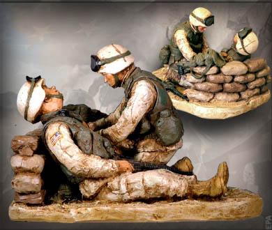 Combat Medic - Handpainted