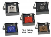 Flask Gift Sets with Funnel