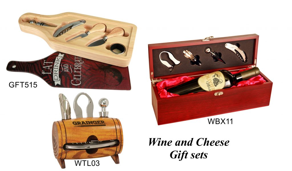 Wine and Cheese Gift Sets
