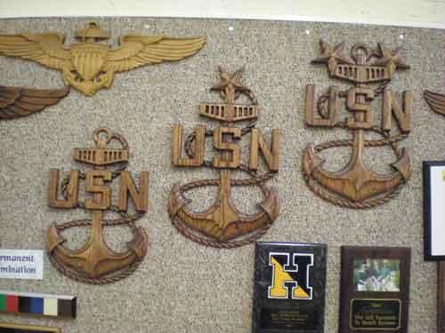 Military Carvings